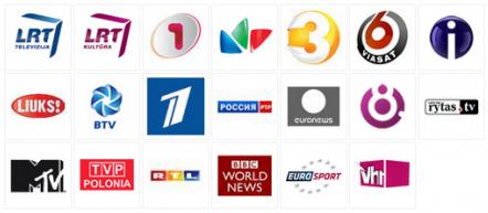 Nemokami DVB-T Kanalai transliuojami lietuvoje