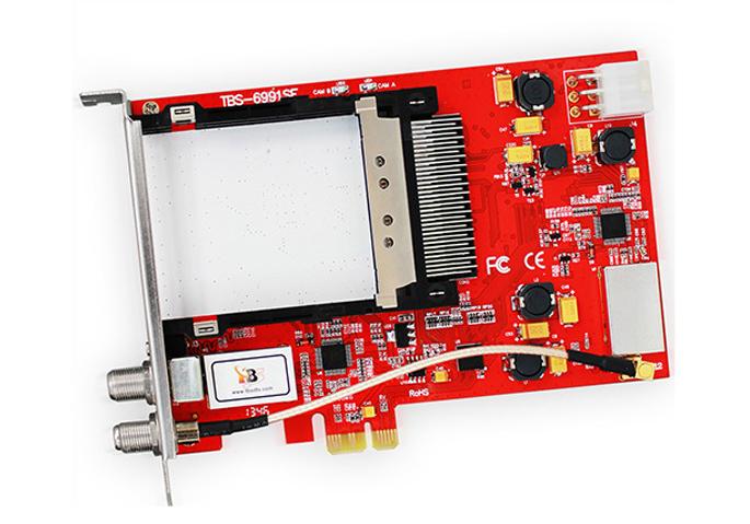 Kabelinės (DVB-C) Skaitmeninės TV plokštė