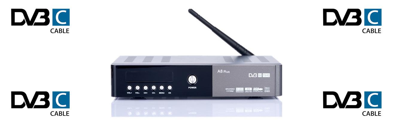 Skaitmeninės kabelinės TV imtuvas (DVB-C)