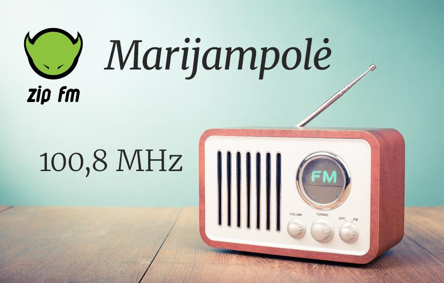ZIP FM Dažnis Marijampolėje
