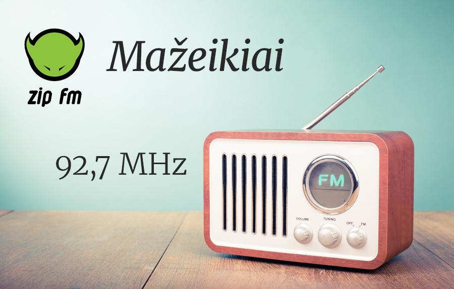 ZIP FM Dažnis Mažeikiuose
