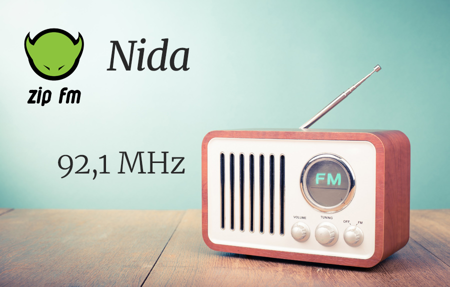 ZIP FM Dažnis Nidoje