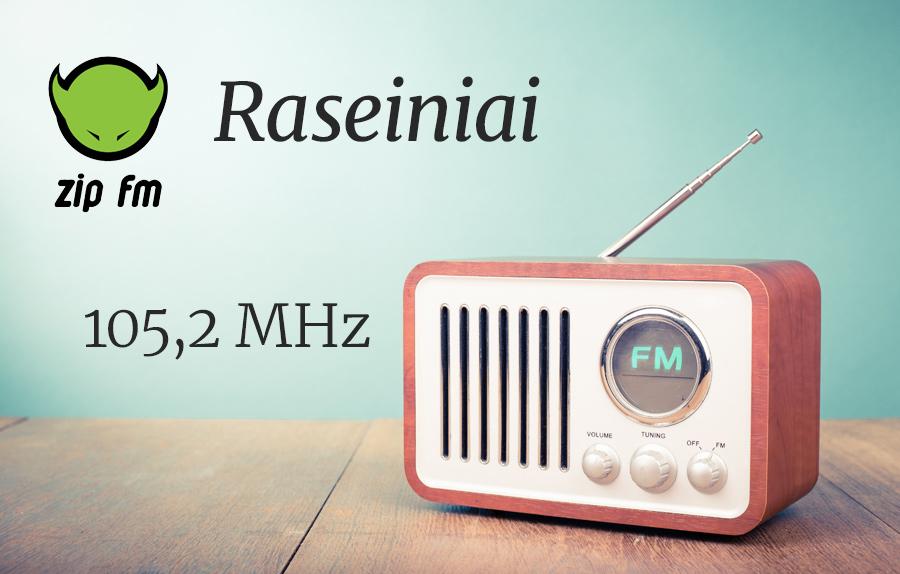 ZIP FM Dažnis Raseiniuose