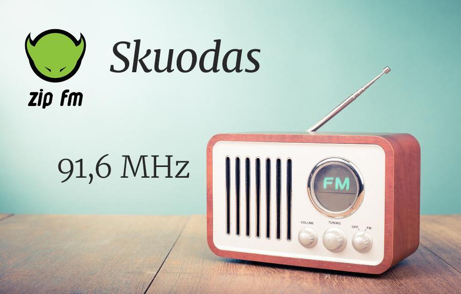 ZIP FM Dažnis Skuode