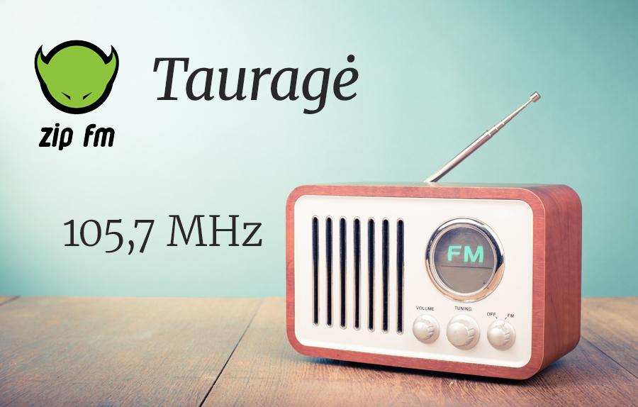 ZIP FM Dažnis Tauragėje